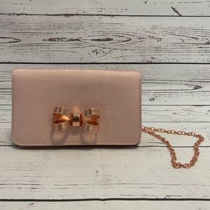 Ted Baker Pink Bow Crossbody